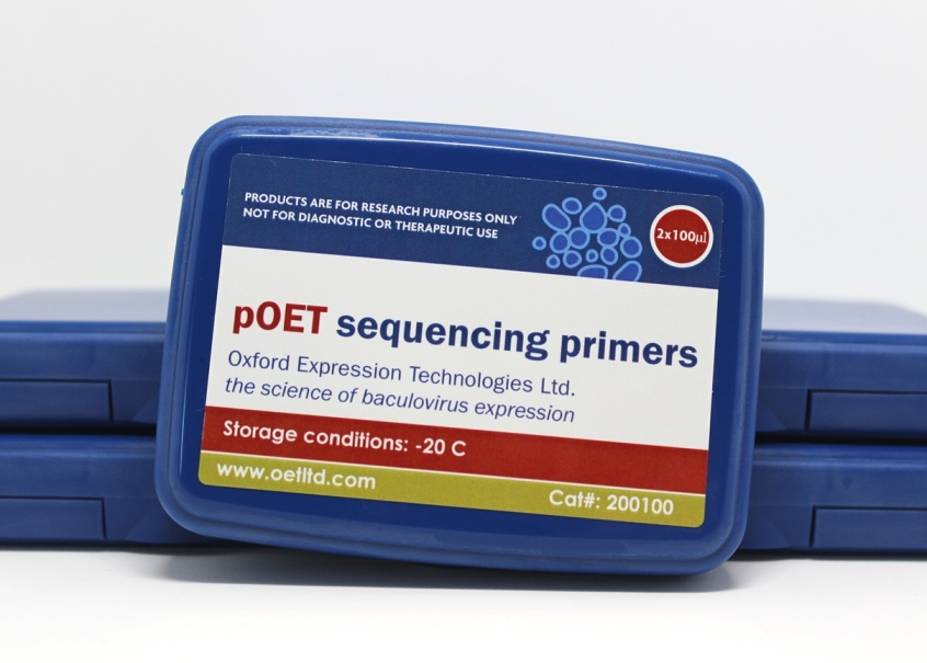 pOET Sequencing Primers Box