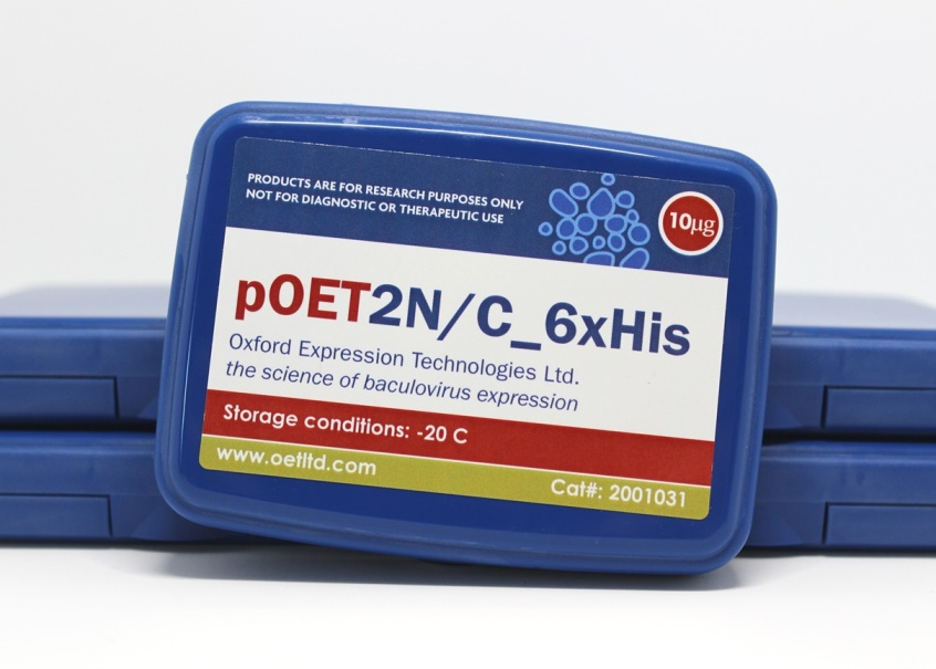 pOET2NC 6xHis Box