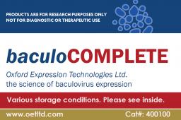 Baculovirus Expression Kit baculoCOMPLETE