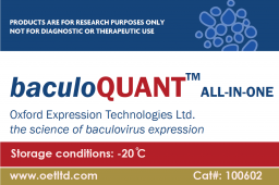 Virus Titration Kit baculoQUANT All-In-One