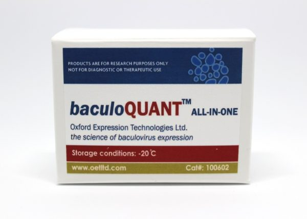 baculoQUANT™ ALL-IN-ONE Virus Extraction & Titration Kit